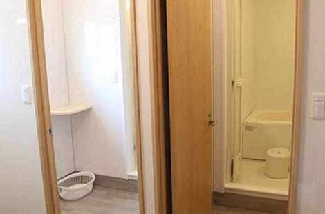 村井工務店 施設紹介 環境サポート 浴室・ランドリーの写真2