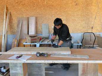 村井工務店 実技講習の様子の写真2