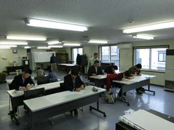 村井工務店 実技講習の様子の写真4