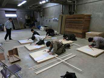 村井工務店 実技講習の様子の写真5