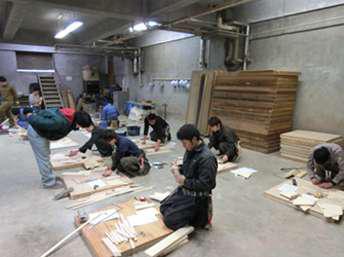 村井工務店 実技講習の様子の写真6