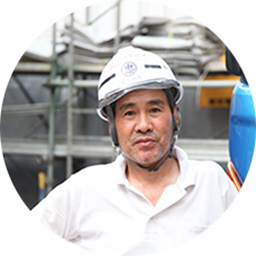 村井工務店 職人紹介 型枠解体工 Mさんの写真