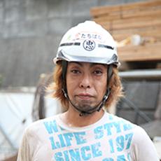村井工務店 職人紹介 型枠解体工 Tさんの写真